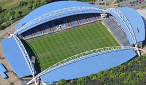 John Smith's Stadium vu du ciel