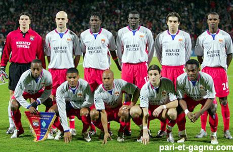 Maillot Olympique Lyonnais ÉQUIPE